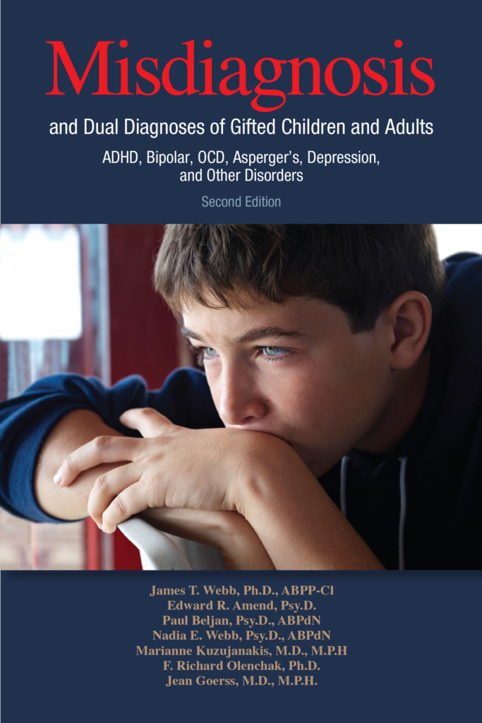 Misdiagnosis & Dual Diagnosis of Gifted Children & Adults [2nd Ed] - ISBN 1935067435